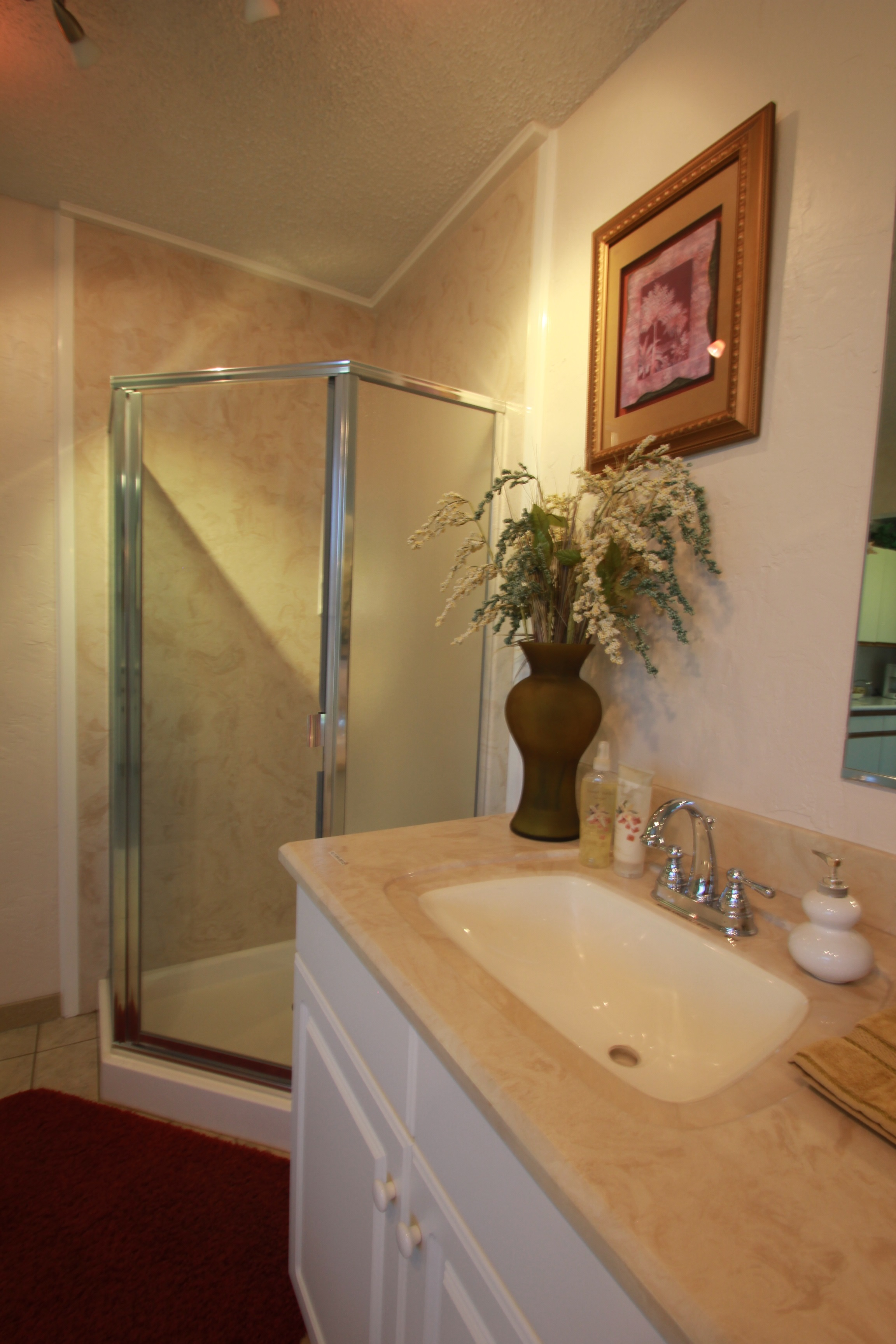marble parchment mount shower surface and kitchens cultured orb bathrooms remodeling services