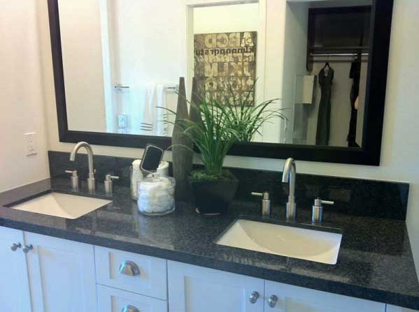 california bathroom countertops