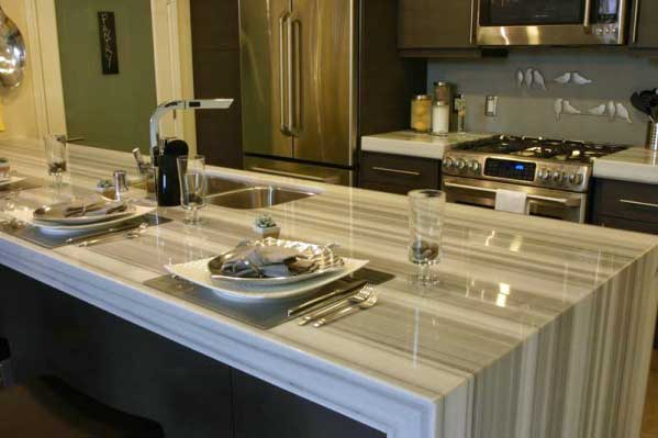 Elegant Crafted Marble Countertops San Diego