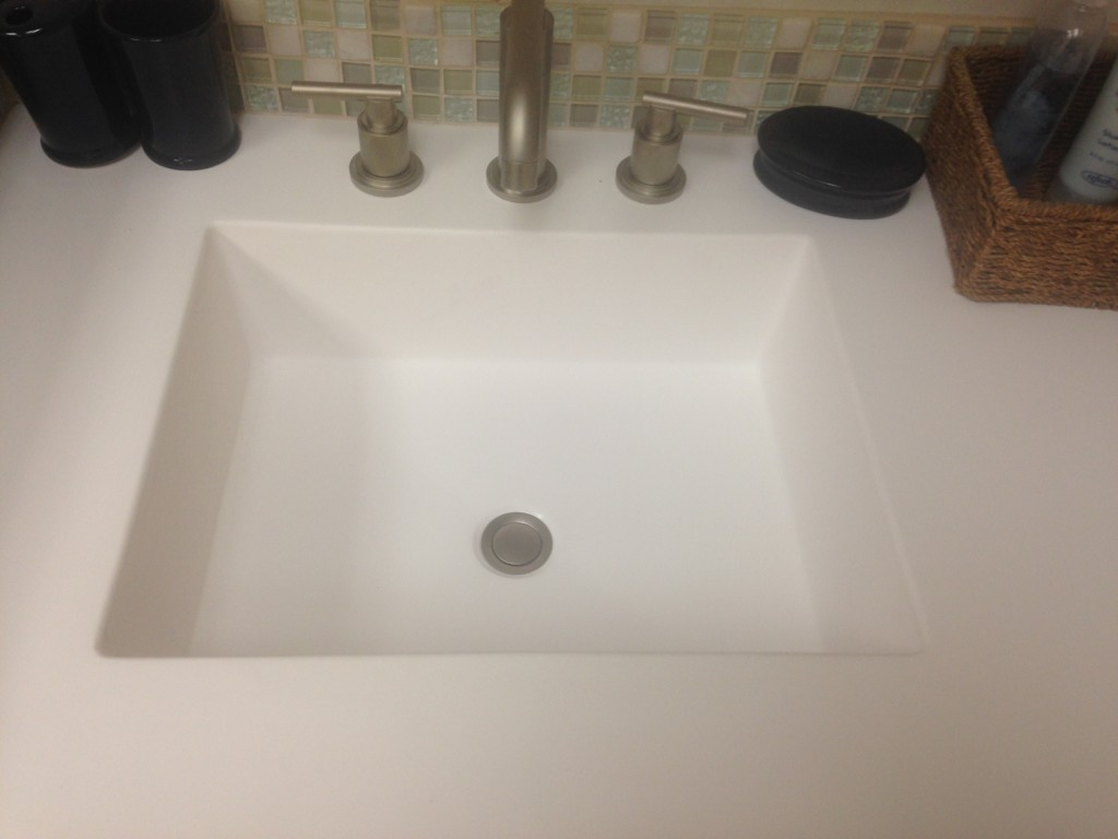 Marble Sink Countertop : cultured marble cultured marble countertops marble countertops leave a ...