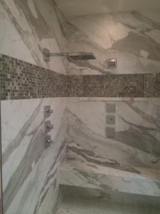 Shower-Marble Marshall-NO LIGHTS